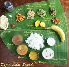 Sandhiya's Cookbook: Lunch Menu - 2 | Vazha ellai Sapadu | South Indian Lunch Thali -2 | Lunch Ideas