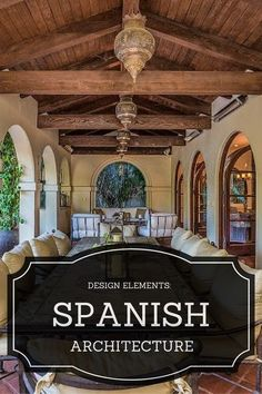 Spanish Style Architectural Elements                                                                                                                                                                                 More