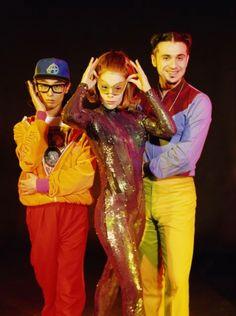 Deee-Lite  Groove is in the heeeeaaaaaaaaaaaaaaaart-WAH WAH WAH WAH WAH WHOA AAH!!!