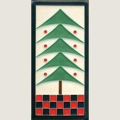 4x8 Dard Hunter Tree | Motawi Tileworks