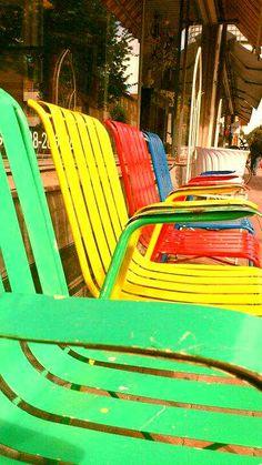 Sillas retro | Retro chairs #verano #Lizarran