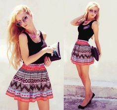 I love her style very much <3