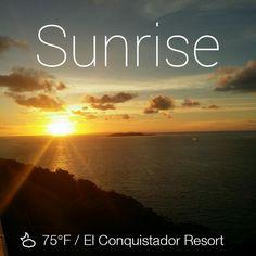beautiful morning sunrise over Palomino Island...Hermosa mañana en @ElConResort #SHRMPR2014 pic.twitter.com/DinCyaLqP1. Puerto Rico   ElConResort.com