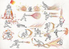 Serious Avatar Quiz: What Bender Are You? Drawing Base, Manga Drawing, Avatar The Last Airbender Art, Art Poses, Drawing Reference Poses, Magic Art, Art Tutorials, Character Art, Fantasy Art