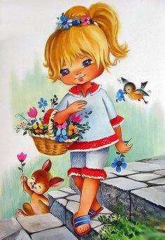 Little Miss Spring Girl