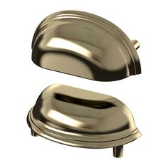 IKEA - FÅGLEBODA, Handle, brass color, , These handles give a sturdy grip thanks to the cup shape, and add a traditional look to your kitchen.