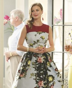We spoke to Revenge costume designer Jill Ohanneson to find out why she dressed Emily in the stunning floral print in season 4, episode 1.