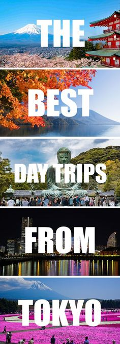 A list of the 5 best day trips from Tokyo. Japan's capital in the kanto region might be fast, but there is much to explored outside of Tokyo. Find out all about my favorite day tours from Tokyo. Especially useful if you plan to use your Japan Rail pass for your day trips. Click for more