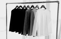 Картинка с тегом «fashion, black, and white»