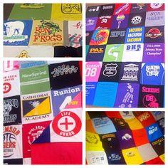 Custom T-shirt Blanket
