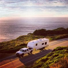 RV Camping- Fifth Wheel Towing