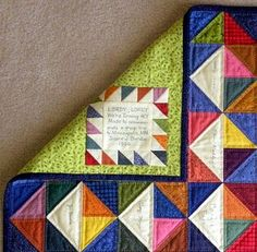 Creative Quilt Labels - Quilting Digest Quilting Tutorials, Quilting Projects, Quilting Designs, Quilting Tips, Modern Quilting, Quilt Binding, Quilt Stitching, Quilting Quotes, Sewing Labels