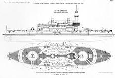 USS Oregon, 1893
