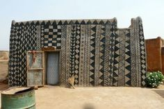 Gurunsi Earth Houses of Burkina Faso.