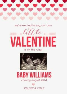 pregnancy announcement valentines day style the change
