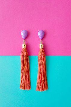 FEATURE | Tassel Earrings DIY