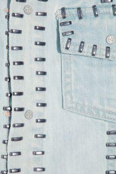 KSUBI  Studded denim jacket