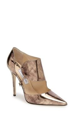 Free shipping and returns on Jimmy Choo 'Houry' Pump (Women) at Nordstrom.com. A rich metallic patina extends the undeniable glamour of a pointy-toe pump featuring a bold cuff and modern, asymmetrical profile.