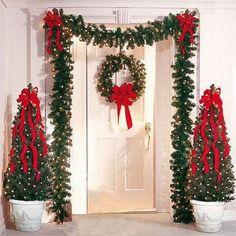 ..❤ Coisas de Laddy ❤..: Decoração de Natal para porta
