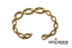 Ατσάλινο Βραχιόλι  72000120 Bracelets, Gold, Jewelry, Bangle Bracelets, Jewellery Making, Jewerly, Jewelery, Jewels, Bracelet