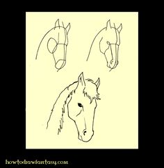 Apprendre a dessiner les chevaux