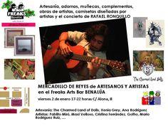Tardeo Artesano y Artístico 2 de enero 2014