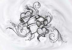 three hearts tattoo - Google Search