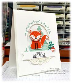 Stampin' Up! Foxy Friends, Bada-Bing! Paper-Crafting!