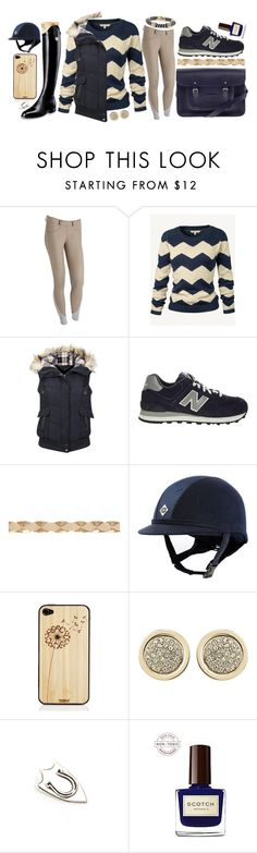 """""""Tan and Navy"""" by mercenary ❤ liked on Polyvore featuring moda, The Cambridge Satchel Company, Fat Face, New Balance, Oasis, Toast, Witchery, The Wildness Jewellery, Wallis e equestrian"""