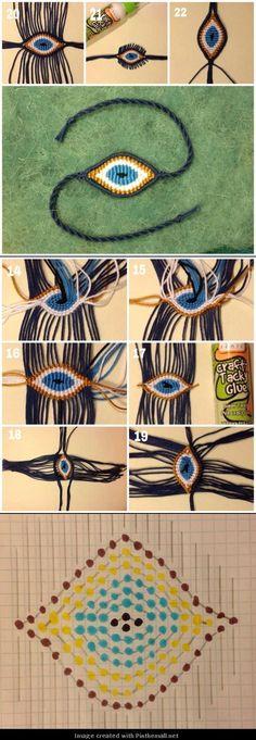 cute macrame bracelet – evil eye Source by Macrame Bracelet Patterns, Macrame Necklace, Macrame Patterns, Macrame Jewelry, Macrame Bracelets, Friendship Bracelet Patterns, Friendship Bracelets, Diy Jewelry, Beaded Bracelet