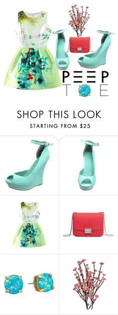 """""""Bloom"""" by emeraldz on Polyvore featuring MANGO and Kate Spade"""