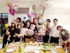 Private Chef 出張シェフ(wataru sumiya)☆ケータリング&デリバリー   元バレーボール日本代表の落合真理さんのベビーシャワーと 潮田玲子さんの誕生日会で料理を(みんなで)作りました。