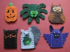 finger puppets by mawmann