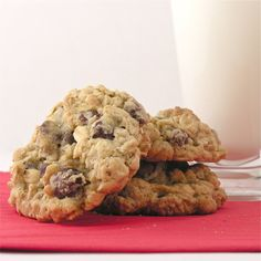 HIGHLY RATED OATMEAL CHOCOLATE CHIP COOKIE RECIPE