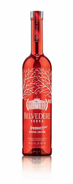 Belvedere Vodka Product (RED) I want this! Love the bottle & the vodka!