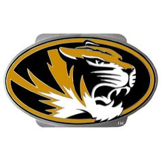 Missouri Tigers NCAA Logo Tiger Hitch Cover