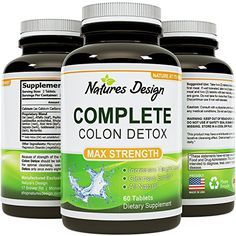 Colon Detox & Weight loss Benefits with Digestive Enzymes - Pure, Plant & Herbs Sourced Formula - Toxins & Waste Cleanse - Optimizes Nutrient Uptake and Stomach Relief - Pills Work Fast with Low Carb Diets - USA Made By Natures Design     Tag a friend who would love this!     $ FREE Shipping Worldwide     Buy one here…