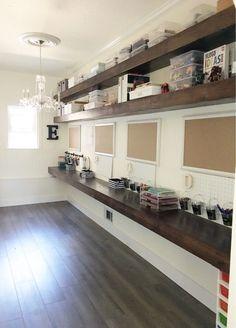 Simply Done: An Incredible DIY Homework & Craft Room