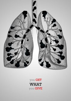 MOTIVATIONAL IMAGE: Air Pollution 1  by ~kaoru4sho  Designs & Interfaces / Advertising  Poster Assignment for Air Pollution Campaign in Tokyo
