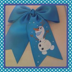 More custom Olaf bow 15.00 shipped to US