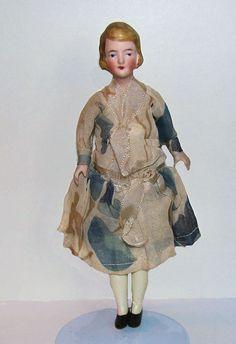 lady from 20s, original silk dress