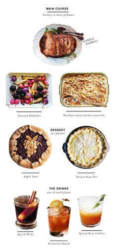 Thanksgiving Menu Generator - http://www.saveur.com/content/thanksgiving-menu-generator?src=SOC&dom=FB
