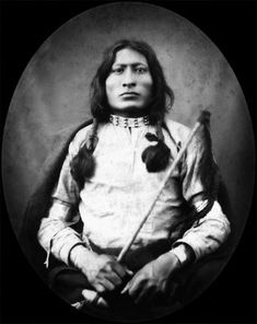 American Indians : One Bull - Hunkpapa was a Lakota Sioux man best known for being the nephew and adopted son of the great holy man, Sitting Bull. He was also the younger brother of White Bull, a famous Lakota warrior and chief contributor to Stanley Vestal's biography of their uncle. He wore his Uncle's shield during the Battle of Little Bighorn.