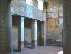 House of the Mosaic Atrium - Atrium House, Empire Romain, Roman Architecture, Clerestory Windows, Reception Areas, Ancient Romans, Roman Empire, Archaeology, Egyptian