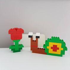 Snail - Hier siehst du eine kleine Schnecke aus LEGO® Duplo, die uns von BRICKaddict.de gefällt!