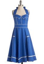 Blueberry Buckle Dress | Mod Retro Vintage Dresses | ModCloth.com  why don't I have money for adorable dresses?
