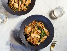 In this goop-y version of a takeout classic, we clean things up by using brown rice noodles instead of white, coconut oil for frying, and honey to sweeten.