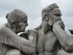 Oslo Norway- Gustav Vigeland sculpture park