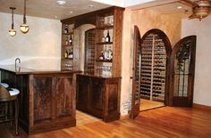 cuthberson wine room