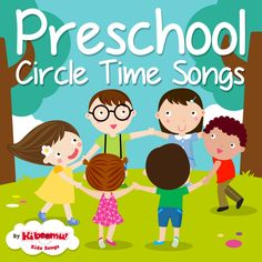 60 Sing-along fun songs for Preschool circle time! #preschool #kidsongs